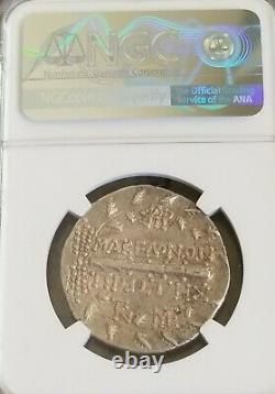 Macedon Sous Rome Tetradrachm Artemis Ngc Xf 4/4 Pièce D'argent Antique