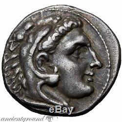 Monnaie Incertaine Alexander Le Grand Argent Tétradrachme 336-322 Av.