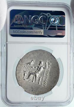 Myrina À Aeolis Argent Grec Ancien Tétradrachme Coin Alexandre III Ngc I85484