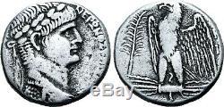 Nero (ad 54-68) Superbe Tetradrachm. Rome Antique Pièce D'argent