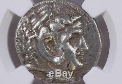 Ngc Grecque Tétradrachme D'argent Alexandre III Le Grand, 4ème Siècle Avant Jc Excellente