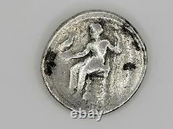 Ngc Tétradrachme Grec, Alexander Le Grand, Hérakles & Zeus, 4ème Cent Avant Jésus Christ, V Bon