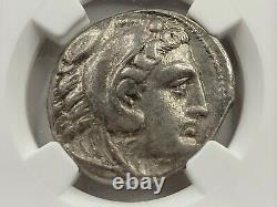 Ngc Vf Alexandre III Le Grand Tétradrachme Ar. 336-323 Av. J.-c. Numéro De Vie