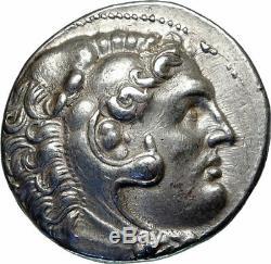 Pergame Attale I Tétradrachme D'argent Alexandre Le Grand Grec Coin I85179
