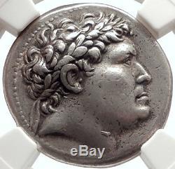 Pergamon King Attalus I Ancien 241bc Tetradrachme Pièce Grecque Argentée Ngc I66893
