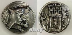 Persis Royaume Vadfradad (autophrades I) 3e/2e C. Bc Ar Tetradrachm Persia