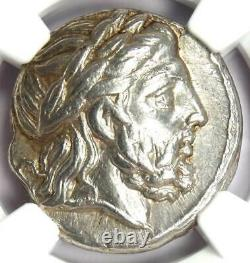 Philip II Ar Tetrachm Zeus Silver Coin 359-336 Bc Certified Ngc Choice Xf