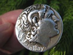 Pièce De Monnaie Grecque En Argent Alexandre Le Grand Tétradrachme 16,92 G, Lysimaque, 298-281bc
