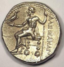 Pièce De Tétradrachme Alexandre Le Grand III Ar 336-323 Av.