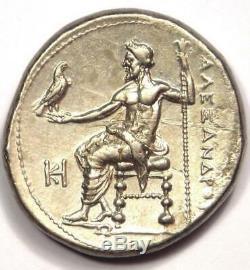 Pièce De Tétradrachme Alexandre Le Grand III Ar 336-323 Av. J.-c. Sharp Choice Au