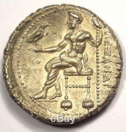 Pièce De Tétradrachme Alexandre Le Grand III Ar 336-323 Avant Jc Détails