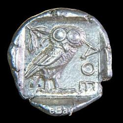 Presque Neuf Athènes Tetradrachm 454-404 Bc