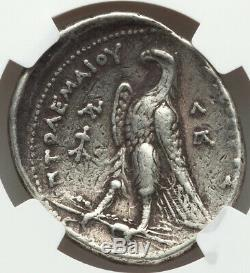 Ptolémaïque Royaume Ptolémée II 285 / 4-246 Bc Ar Tétradrachme Ngc Vf 4/5 3/5