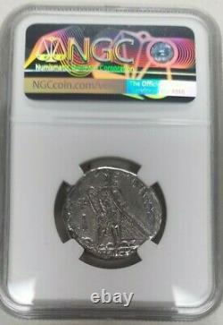 Ptolémée Royaume Ptolémée Ar Tetradrachme Ptolémée II 285-246 Bc Ngc Vg Tyre