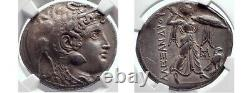 Ptolémée Soter, Roi D'egypte, D'argent Tetradracm Grèce, 305 Bc, Ngc