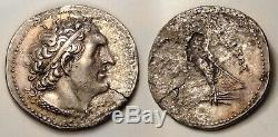 Ptolémée Soter Tetradrachm 305-285 Bc Argent Ancient Egypt Coin Ar