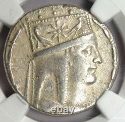 Rois D'arménie Tigranes II Ar Tetradrachm Coin 95-56 Av. J.-c. Certifié Ngc Xf (ef)