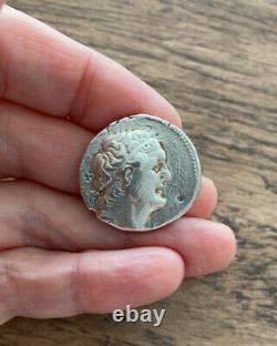 Royaume D'égypte. Ptolémée Ii, Philadelphos, 285-246 B. C. Tetrachme D'argent