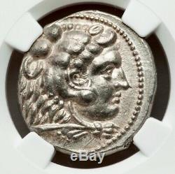 Royaume De Macedoine Alexandre Le Grand III Ar Tetradrachm 336-323 Bc Ngc Ch Au
