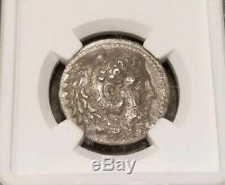 Royaume De Macédoine Alexandre Le Grand Tétradrachme Ngc Vf Antique Silver Coin