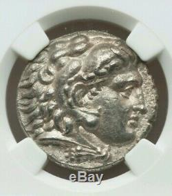 Royaume De Macédoine Philippe III Tetradrachm Ngc Choix Vf Antique Silver Coin