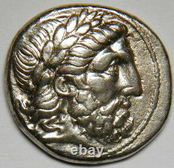 Royaume De Macedon Philippe II Ar Tetradrachm 359-336 Av. J.-c. (amphipolis) Gvf