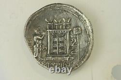 Royaume De Persis Bagadat 3 C. Bc Ar Tetradrachm Perse Grade Au