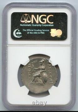 Royaume De Thrace Ar Tetradrachm 305-281 Bc Xf