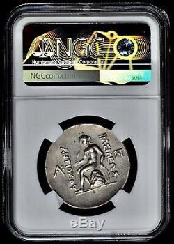 Royaume Des Séleucides Antiochos III Antiochus Le Grand Ar Tétradrachme Ngc Xf