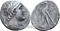 Royaume Séleucide Antiochus VII Antiochos Évergète Argent Tetradrachm Ngc Ch Vf