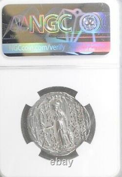 Royaume Séleucide, Antiochus Vii, 138-129 Av. J.-c., Ar Tetradrachm Ngc Vf
