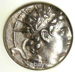Seleucid Antiochus VI Infant King Ar Drachm Coin 145-142 Bc Certified Ngc Au