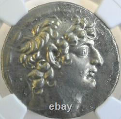 Seleucid Kingdom Philip I C. 95-75 Bc Tetradrachm Ngc Ch Au