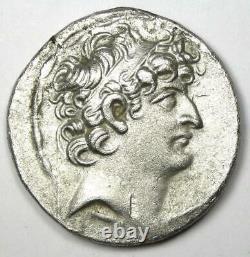 Seleucid Philip I Philadelphos Ar Tetradrachm Silver Coin 95-76 Bc Vf