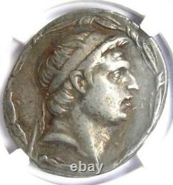 Séleucide Démétrius I Ar Tetradrachm Silver Coin 162-150 Bc Ngc Choix Vf