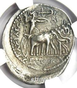 Seleucus I Zeus Et Elephant Ar Tetradrachm 312-281 Bc Certified Ngc Choice Vf