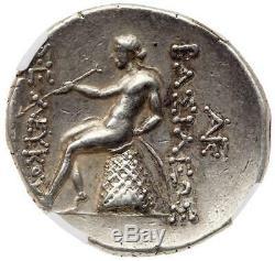 Seleukid Royaume Seleukos III Soter Ngc Xf 4/5 4/5 Tetradrachm 16.77g Sharp 013