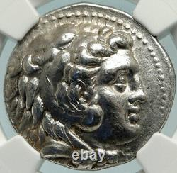 Seleukos I Nicator Ancien Tétradrachme D'argent Seleukid Grec Monnaie Ngc I84771