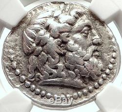 Seleukos I Nicator Seleukid Tetradrachm Elephants Argent Grec Monnaie Ngc I68725