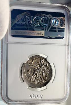 Seleukos I Nikator Seleukid Ancient Silver Greek Tetradrachm Coin Ngc I82690