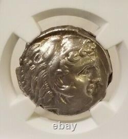 Sicile, Siculo-punic Tetradrachm Ngc Au Ancient Silver Coin