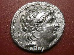 Syrie Grecque, Antiochus VII Euergetes Athena, Tétradrachme D'argent (92mp)