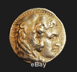 Tétradrachme Argent Antique Grecque Aphrodite-ngc D'alexandre III Le Grand