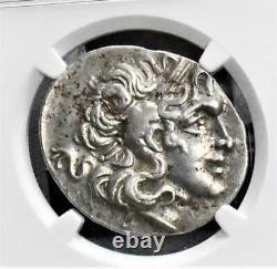 Tétradrachme D'argent Grec Ancien D'alexandre III / Athéna