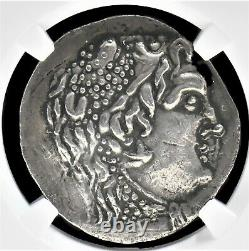 Tétradrachme D'argent Grec Messembria, 125 125 Bc, Ngc Grade Vf