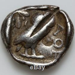 Tétradrachme D'athènes, Grec Antique, Argent 450 Bc
