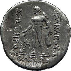 Thasos Thrace 148bc Large Antique Authentique Argent Grec Tetradrachm Coin I70108