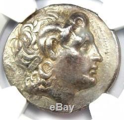 Thrace Alexandre Le Grand Lysimaque Ar Tetradrachm 305 Bc Coin Ngc Choix Vf