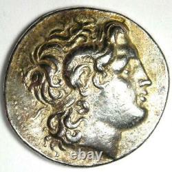 Thrace Lysimachus Alexander Ar Tetradrachm Lysimachos Coin 305-281 Bc Vf / Xf