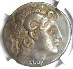 Thrace Lysimachus Alexander Ar Tetradrachm Lysimachos Coin 305 Bc Ngc Ch Fine